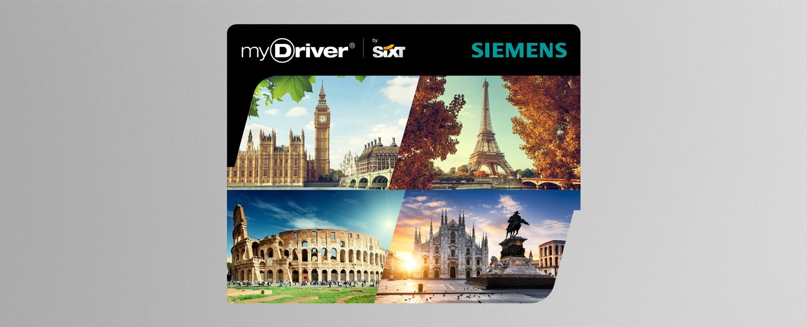 myDriver by Sixt Gestaltung